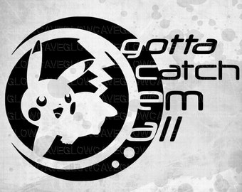 Pokemon svg/ Pokemon Go SVG / Pokemon SVG File. PNG
