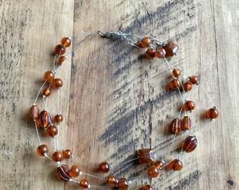 Boho occasional necklace