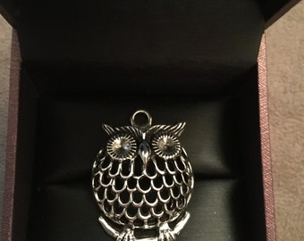 Owl Charm Pendant