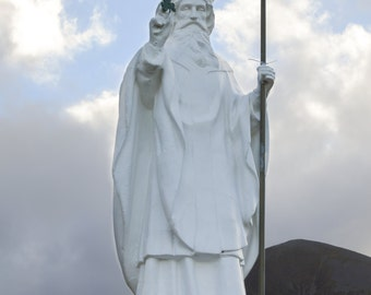 St. Patrick Statue, Croagh Patrick, Ireland