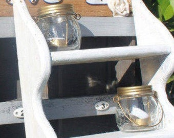 Small Mason Jar Lantern (Single)