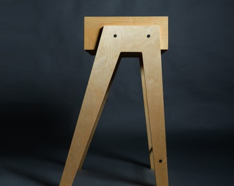 Plywood Side Table