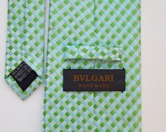 SUMMER SALE: BVLGARI Silk Tie
