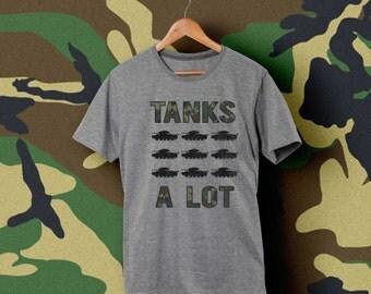 Tanks a lot vintage style shirt -- Thanks a lot
