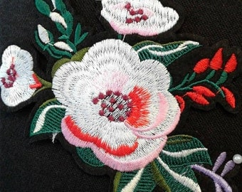 Iron-On Flower Patch Applique #6C0951