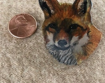 Fox Lapel Pin - Brooch