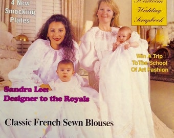 Magazine Sew Beautiful Martha Pullen heirloom sewing children's wedding