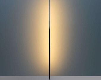 Floor lamp led LUMO RONDIGI RF, 20W. Steel aluminium with lamp led lamp with remote control.