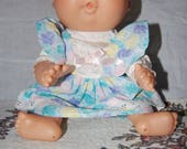 Rare 1991 jointed Mattel First Edition signed xavier roberts baldie bald preemie newborn cabbage patch doll green eyes