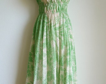 Grès Boutique 70s summer dress