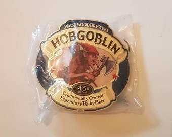 WYCHWOOD HOBGOBLIN metal beer pump badge