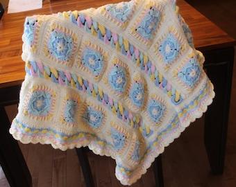 Rings and Things Baby Blanket