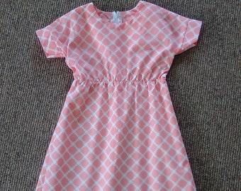 Girls summer play dress