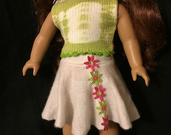 American girl doll in style