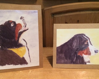 Berner print cards from original artwork