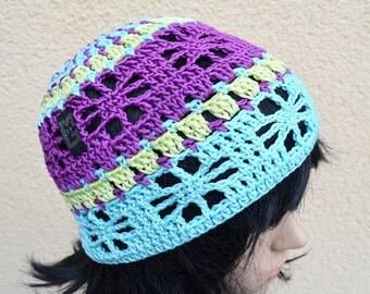 Crochet beret Sookie