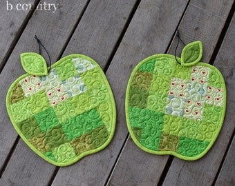 apple placemats | etsy