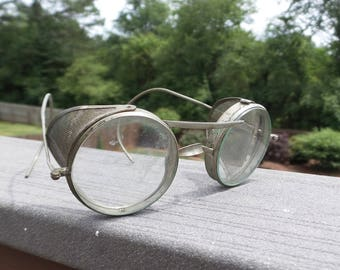 Antique Motorcycle or Auto Folding Safety Glasses
