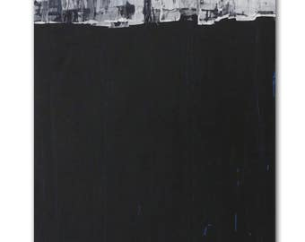 Abstract painting, Abstract art, Acrylic painting, Original painting, Paintings on canvas, Large abstract painting, Canvas painting, black