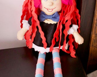 Little Witch Red-haired with Ponytails