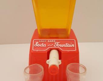Vintage Andy Gard Toy Soda Fountain