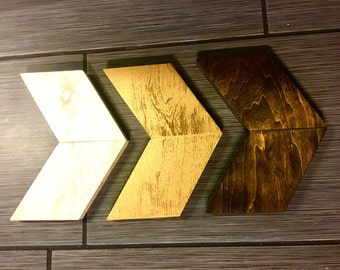 Decorative wooden arross