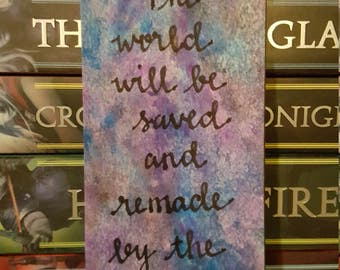 The World Will Be Saved Bookmark