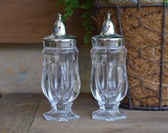 Fostoria Revere Salt and Pepper Shakers