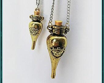 Felix Felicis Necklace (Liquid Luck) Metallic