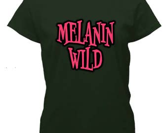 Melanin Wild on Forest Green