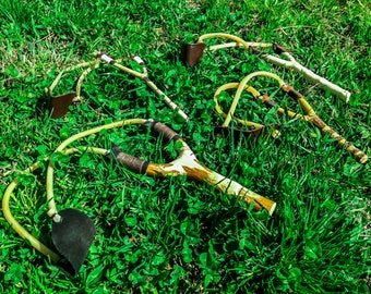 Handmade slingshots