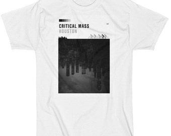 Critical Mass Houston T Shirt-Men's Short Sleeve  (LA Apparel)