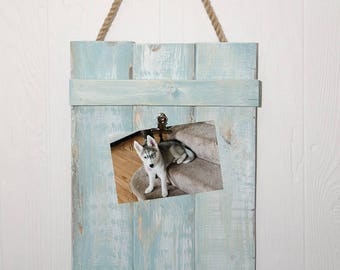 Rustic Memo Board, Farmhouse, Picture Hanger, Wall Art, Note Board, Reclaimed look