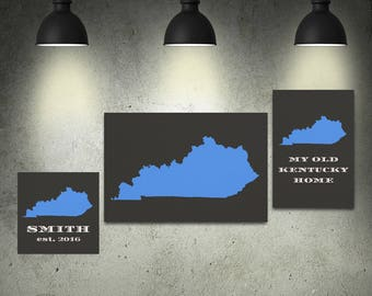 Kentucky Mounted Canvas (made to order)