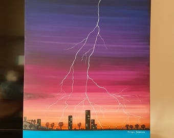 The Power Of Nature, Acrylic, Paint, Canvas, Art