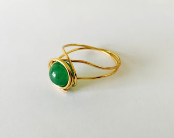 Simona Earthy Glamour Ring-Size 10