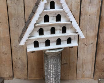 Vintage style dovecote - Four tier - Ten holes