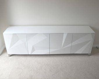 Modern Geometric Sideboard