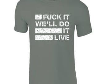 Mens T-Shirts Miltary Green