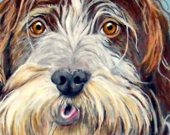 Custom Pet Portrait, Custom Dog and Cat Portrait Artist, Custom Portrait Art