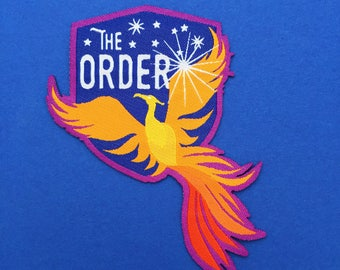 The Order of the Phoenix Iron On Patch - Harry Potter Patch - Phoenix Patch