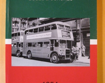 London Transport Buses and Coaches 1954 by John A.S. Hambley