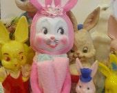 Easter Pixie Bunny Rabbit Elf Shelf Knee Hugger Kitsch Vintage style