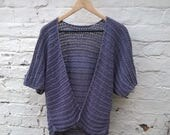 Crochet Pattern for Women's Cardigan Kimono Aran weight Instant Download PDF