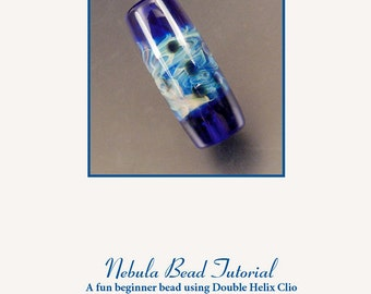 Tutorial Nebula Bead: A fun beginner bead using Double Helix Clio