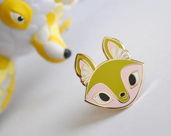 Sweasel Kit Enamel Pin