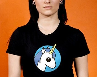 Cute Unicorn - Women / Girl Tee - Sick On Sin