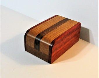 Treasure Box Made Of Three Hard Woods
