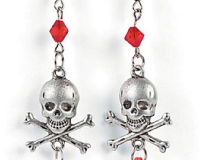 Skull and Crossbone Earrings