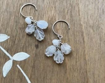 Custom Moonstone Earrings